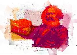 Marx cubist