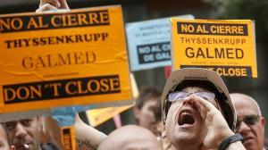 Manifestación Galmed Sagunto