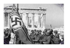 La Wehrmacht en Atenas