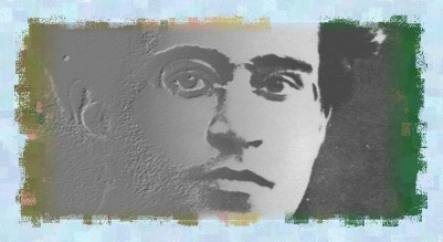 Gramsci portrait (Stubble Brush)