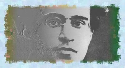 Gramsci portrait (Stubble Brush)