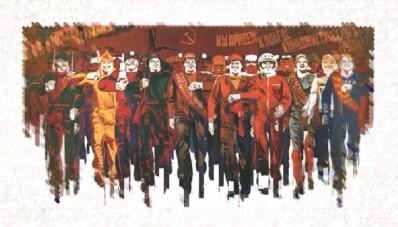 SOVIET DEMO (Cross-stitch)