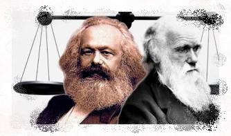 Картинки по запросу darwin y marx