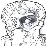Aristoteles-dibujo
